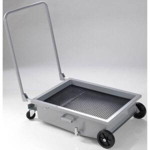 Vagn för uppsamling av spillolja