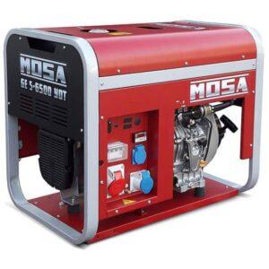 Elgenerator diesel 6,5 kVA Mosa GE S-6500 YDT