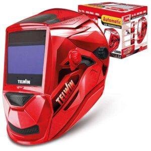 Svetshjälm Vantage Red XL från Telwin röd färg