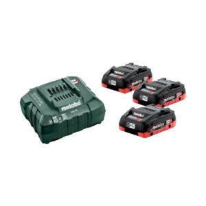 Batterier och laddare 18 volt