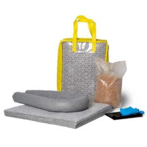 Absorberande spillkit i väska