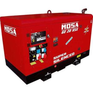 Dieseldrivet elverk MOSA